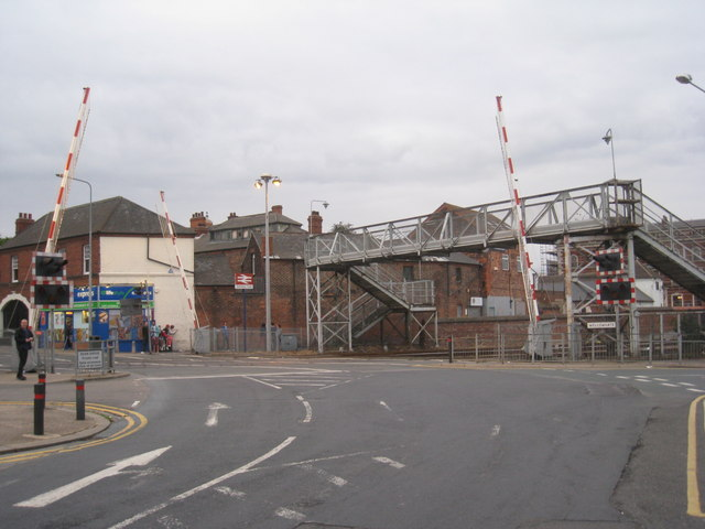 Wellowgate level crossing, Grimsby