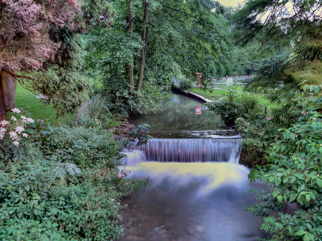 The Weir, Stratford Park, Stroud