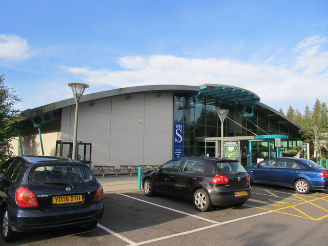 Winchester motorway services on the M3