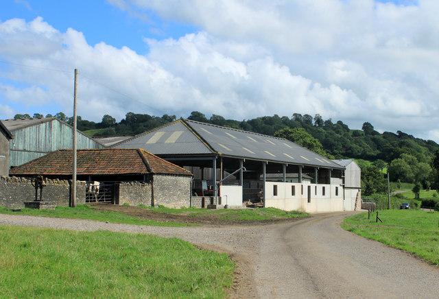 2012 : New barn at North Widcombe Farm