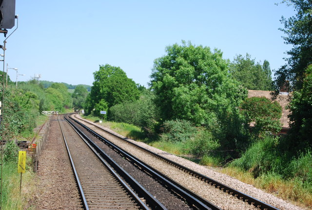 Hastings Line north of High Brooms Station