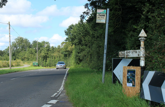 2012 : A368 near North Widcombe