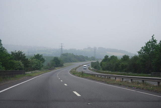 A380 south of Ware Cross
