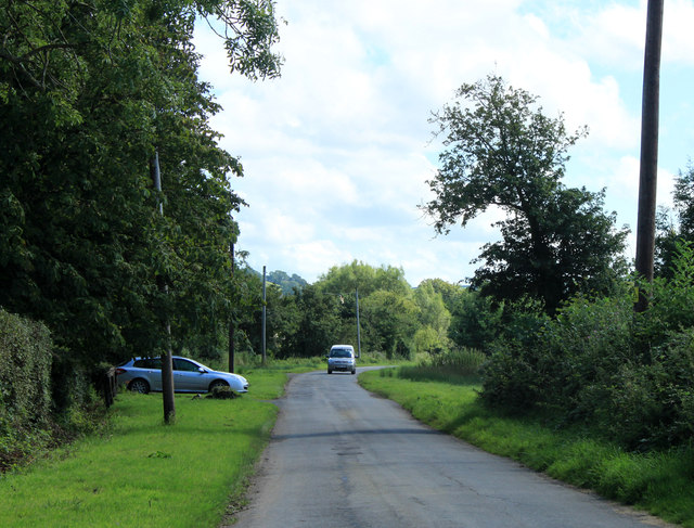2012 : Minor road through North Widcombe
