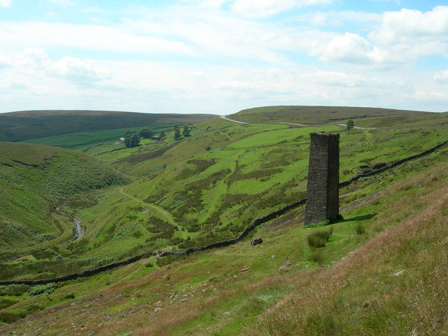 Danebower Colliery Chimney