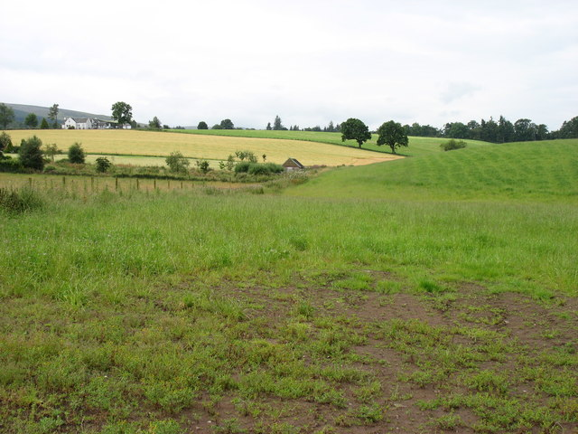 Fields south of Auchterarder