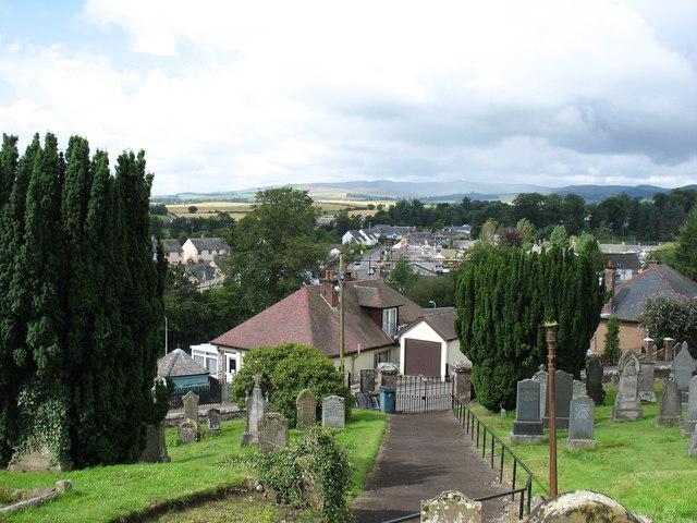 Bankfoot village