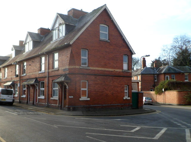 Corner of Green Street and Mill Street, Hereford