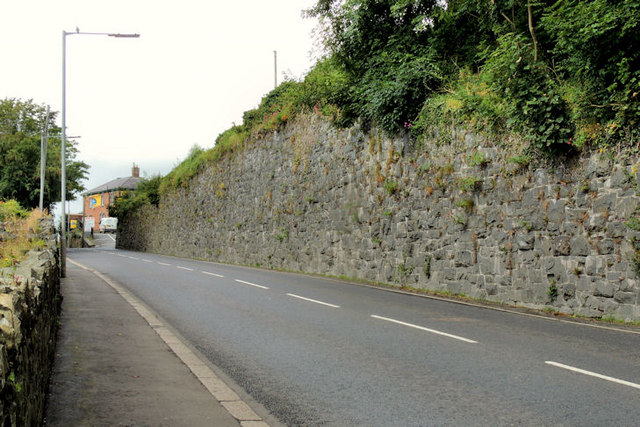 Old railway wall, Dromore