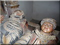 SO2296 : Effigies of the Herberts in St. Nicholas' church, Montgomery by Jeremy Bolwell