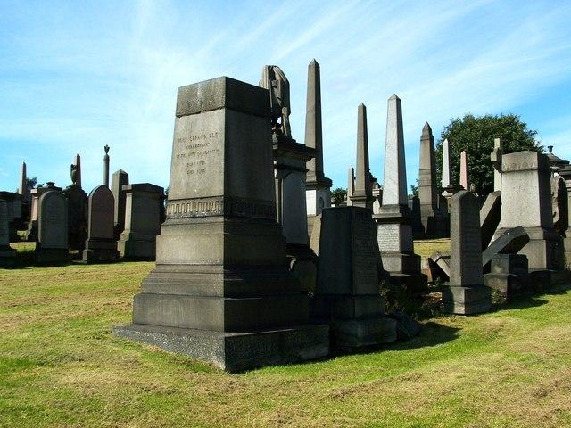 Memorial to John Strang