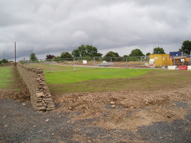 Site of new cemetery