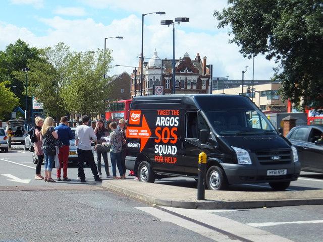 Argos SOS Squad van