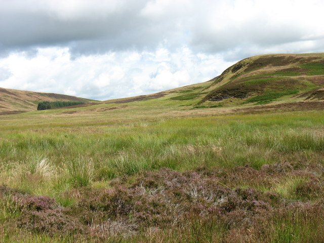 The slopes above Loch Tullybelton