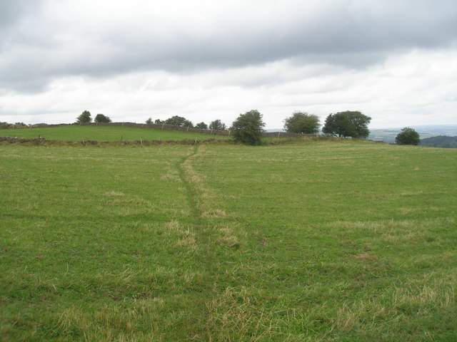 Limestone Way north of Bonsall Lane Farm