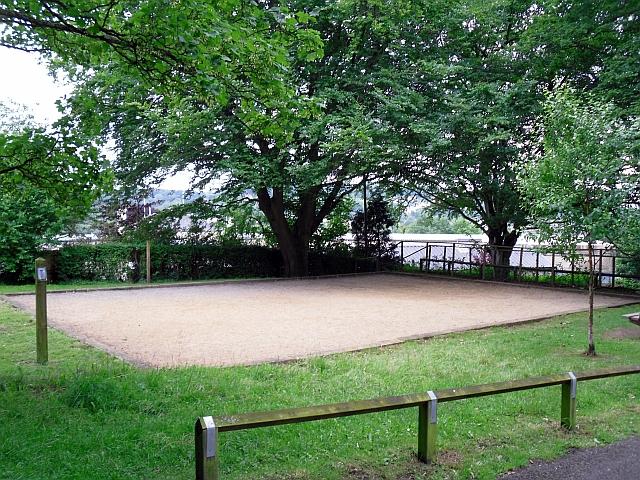 Boules pitch, Alexandra Park
