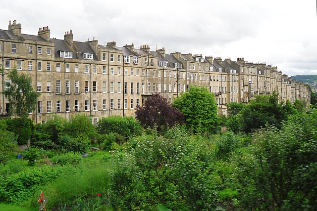 View to the back of Marlborough Buildings