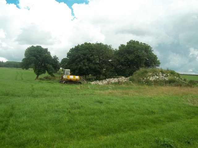 Pile of Rubble near Uppermoor Farm