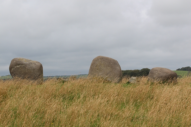 Stone row near the Torhousekie stone circle