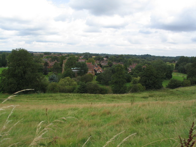 Stoneleigh from Motslow Hill