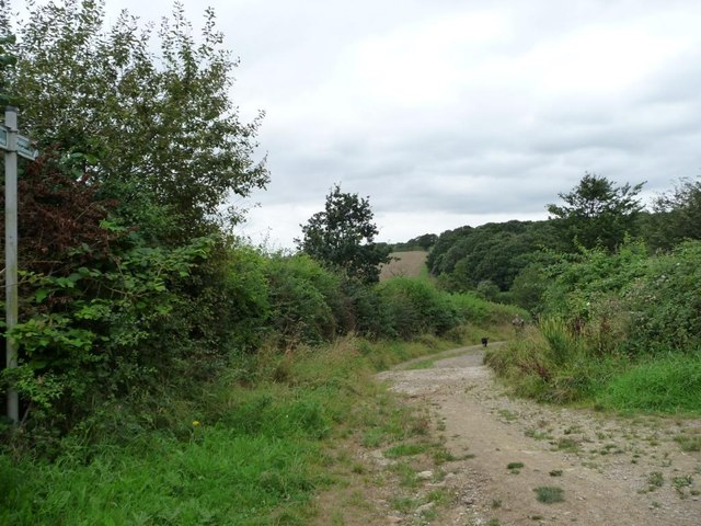 Brecks Lane, west of the Lines Way