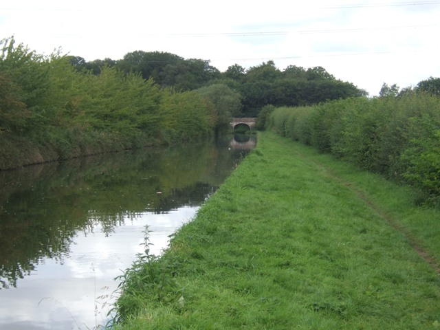 Shropshire Union Canal - View towards Park Bridge