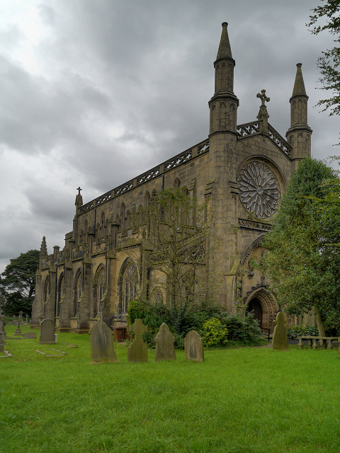 Pleasington Priory (the Church of St Mary and St John Baptist)