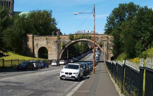 Wishart Street and the Bridge of Sighs