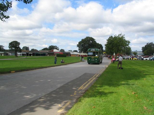 Main drive, Stoneleigh Park