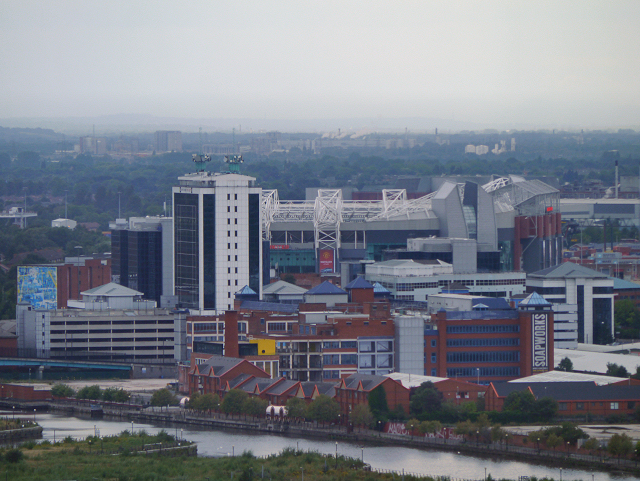 View towards Old Trafford