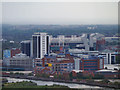 SJ8196 : View towards Old Trafford by David Dixon