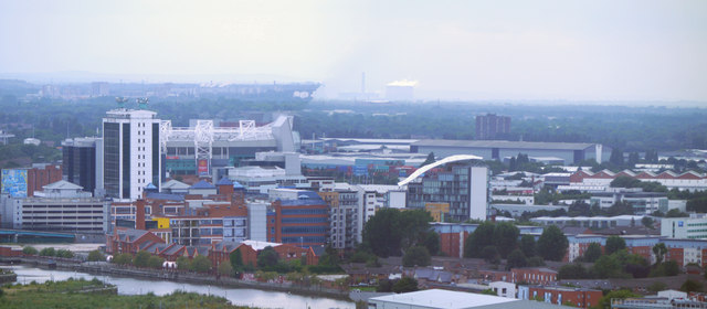 Old Trafford and Salford Quays