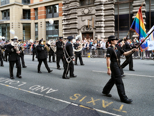 Greater Manchester Police Band, Manchester Pride