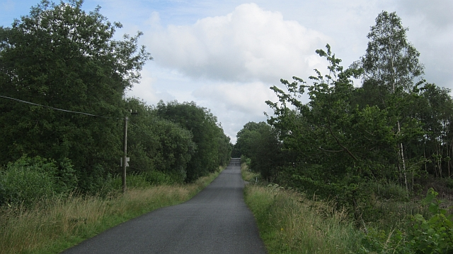 Local road, Ballygarveybeg