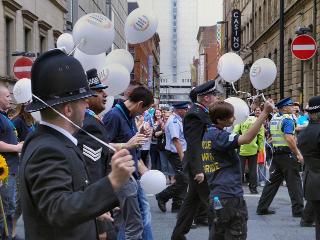 Manchester Pride Parade 2012