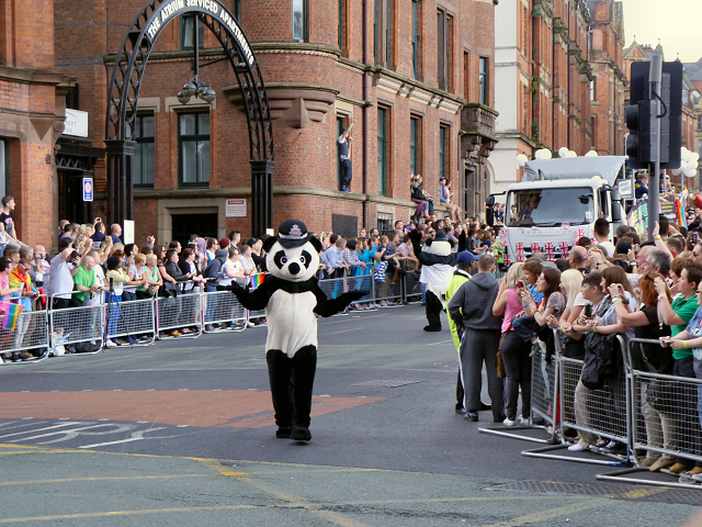 2012 Manchester Pride Parade, Whitworth Street/Princess Street