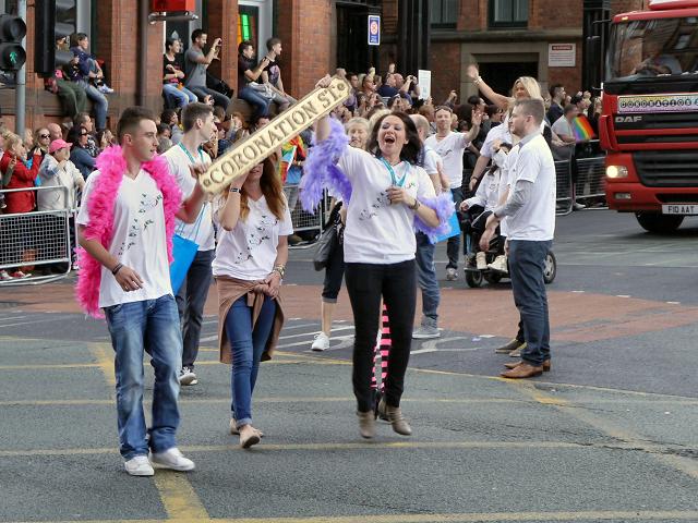 Manchester Pride 2012, Coronation Street