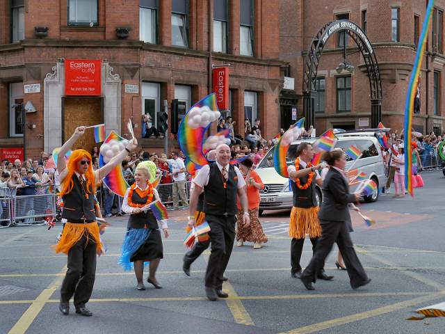 Manchester Pride 2012, Princess Street/Whitworth Street