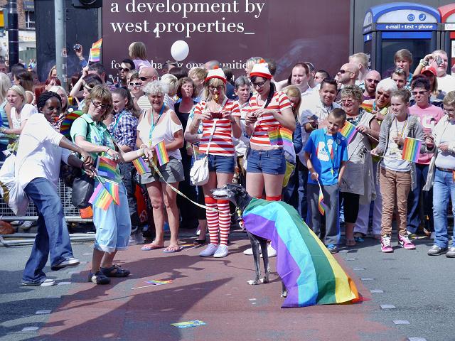 Manchester Pride Procession 2012