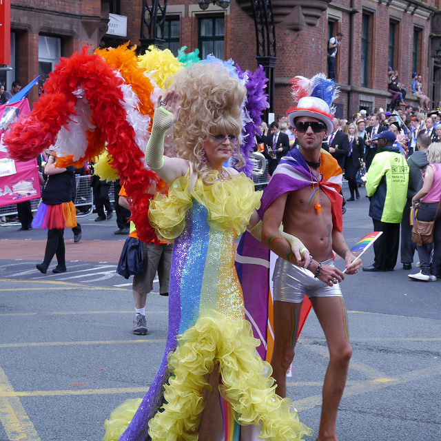 Manchester Pride Procession 2012, Whitworth Street