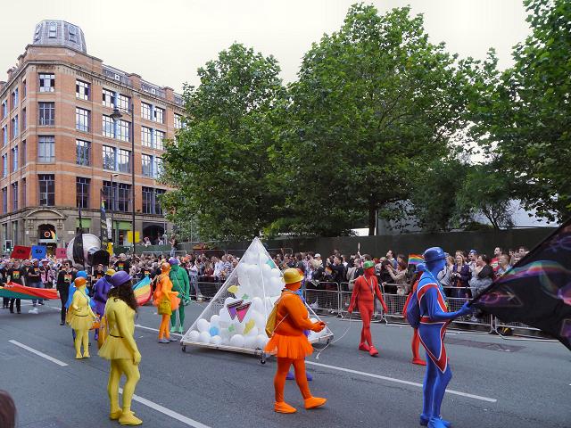 Whitworth Street, Manchester Pride Procession