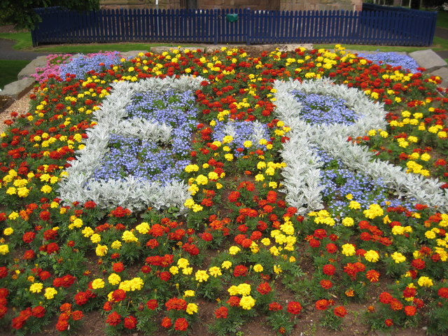 Jubilee floral display