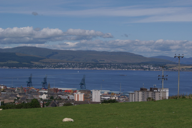 Greenock and the Firth of Clyde