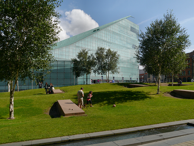 Cathedral Gardens and The National Football Museum