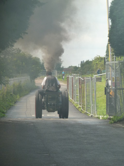 Claymills Victorian Pumping Station - steaming down the lane