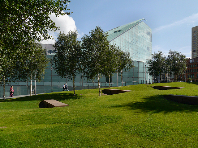 Cathedral Gardens, National Football Museum, Manchester