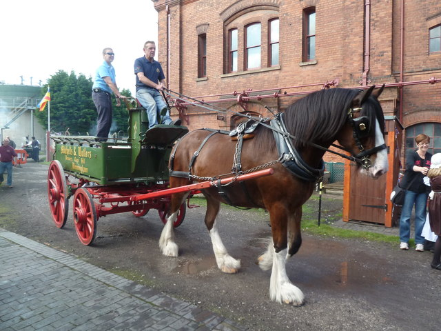 Claymills Victorian Pumping Station - one horsepower vehicle