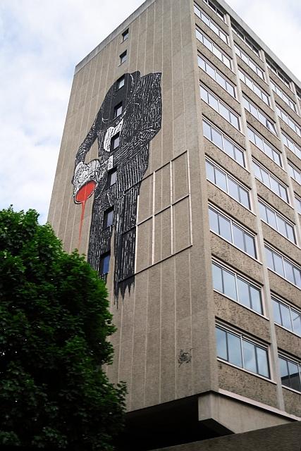 Nick Walker mural, Quay Street