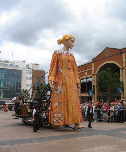 Lady Godiva, Broadgate