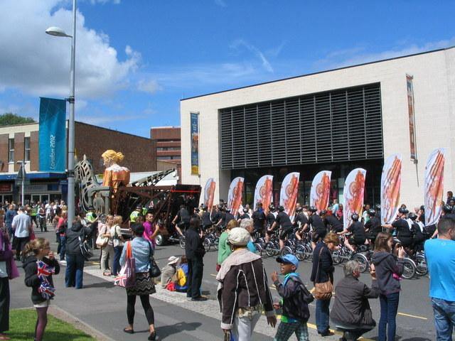 Godiva Carnival, Hales Street